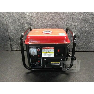 Portable Gasoline Generator 120V, 60HZ, Rpm:1000, Peaked Power: 1200 KG1200
