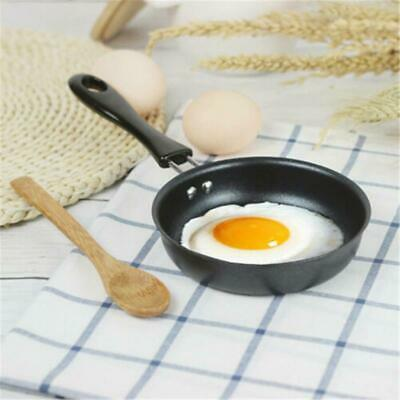 Round Cast Iron Skillet Grill Frying Pan Griddle Pre Seasoned Mini Frying Pan