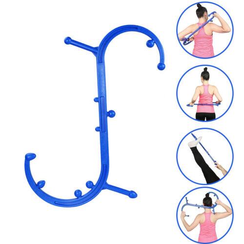 Triggerpunkt Rückenmassagegerät 11 Therapieknäufe Massagegerät Massagestab