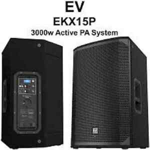 Brand New EV EKX 15p Powered Speakers - US MODELS Oakville / Halton Region Toronto (GTA) image 1