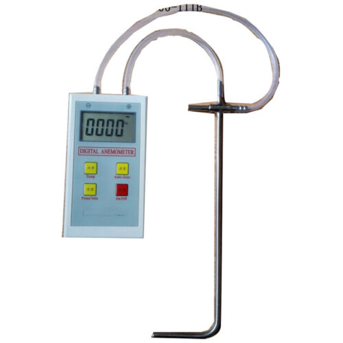 Pitot Tube Anemommeter and Differential Manometer