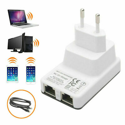 300Mbps 2.4GHz Router Wifi WLAN LAN 802.11g Wireless Repeater Verstärker Signal
