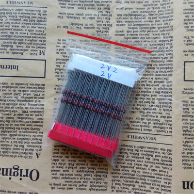 32 Value 12w 0.5w 2v 39v Zener Diode Assorted Kit 320pcs