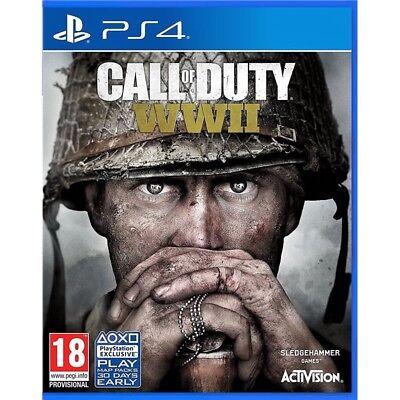 CALL OF DUTY WORLD WAR II PER PS4 NUOVO SIGILLATO DA NEGOZIO...