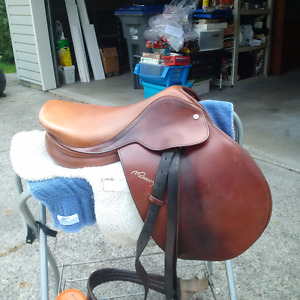 Equestrian Riding Gear - Saddle, Tack Box and Contents