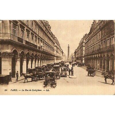 [75] Paris - La Rue de Castiglione.