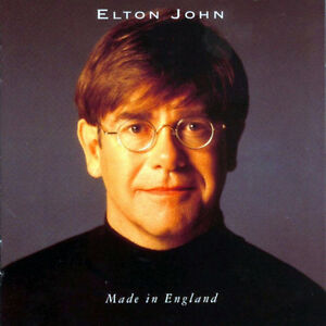 Elton John-Made in England cd-Mint Condition +
