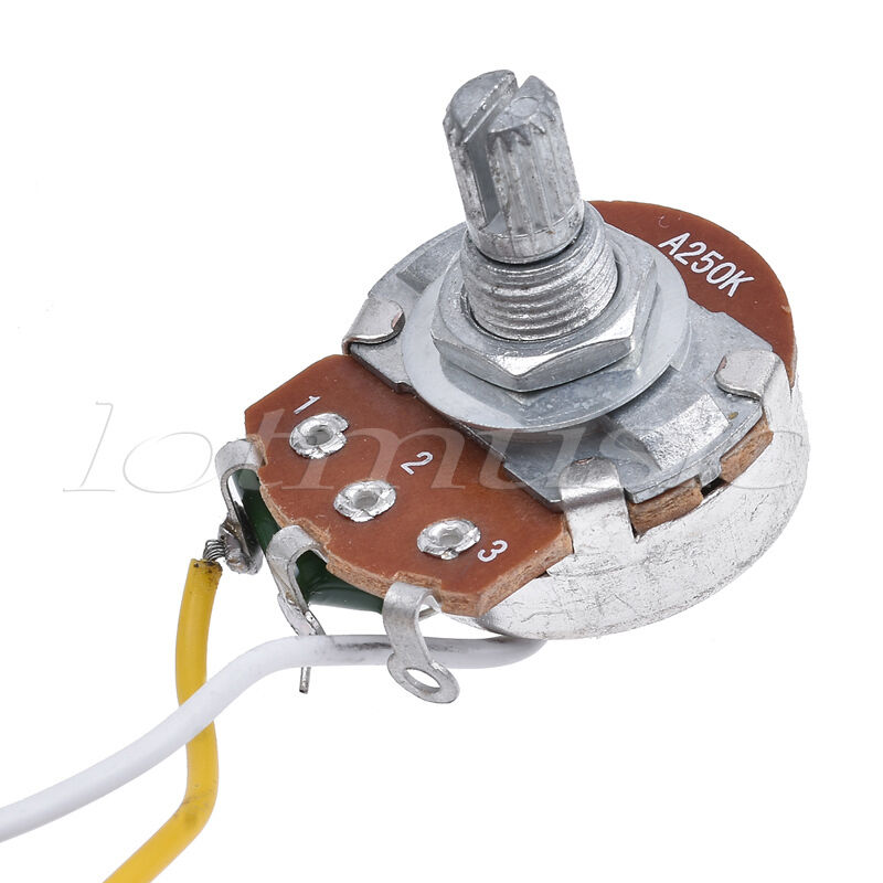 guitar prewired wiring harness for fender tele parts 3 way 250k guitar prewired wiring harness for fender tele parts 3 way 250k pots jack 5 pcs 5 5 of 6