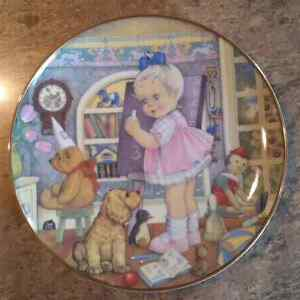 1982 Teachers Pet Carol Lawson Collectors Plates
