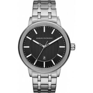 The sleek metal men's watch forms part of the Urban range