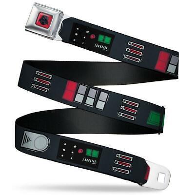 Black Utility Belt (Star Wars Darth Vader Utility Belt Bounding3 Black Grays Reds Seatbelt)