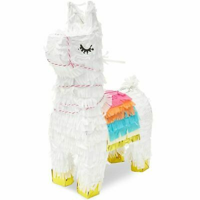 Juvale Boho Fiesta Llama Party Pinata, 8.5 x 4.5 x 15 Inches