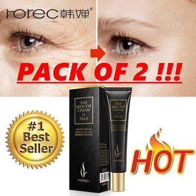 PROMO PACK OF 2 PLEXADERM rapid Eye Anti Aging Wrinkles Cream Improve dryness