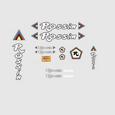 Transfers Rossin Bicycle Frame Stickers n.1 Decals