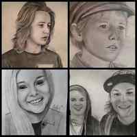 Portrait drawings just in time for Christmas
