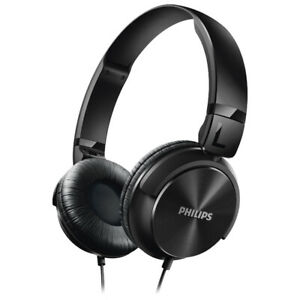 Philips On-Ear Sound Isolating Headphones (SHL3060BK/28) - Black