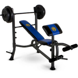 Marcy Bench Press and Weight Set