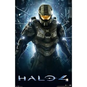 Halo 4 / Call of Duty Posters metalic finish