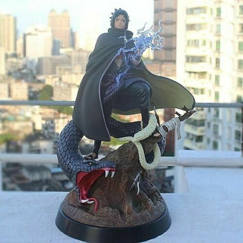 Naruto Sasuke Snake Statue PVC Action Figures Naruto Shippuden Toy Gift 32CM