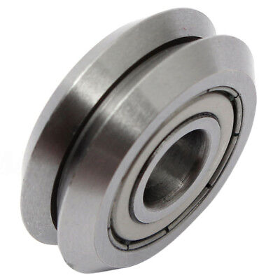 W1 Deep V Groove W-rail Guide Line Track Pulley Rollers Ball Bearings Steeli6v6