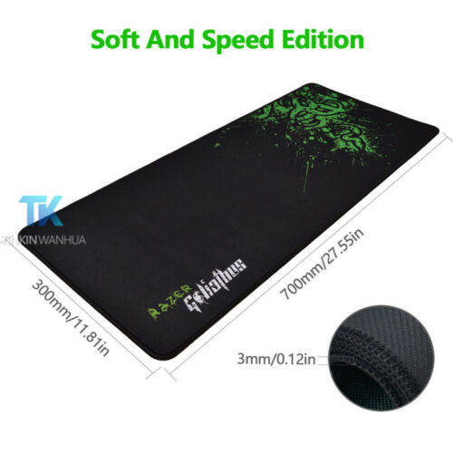 800*300MM Large Size Red Rubber Goliathus Mantis Speed Game Mouse Pad Mat