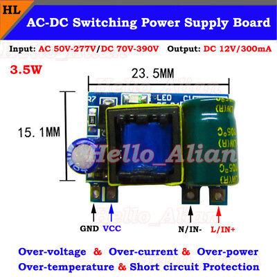 Mini Ac-dc Converter 110v 220v To 12v 300ma Isolated Power Switching Transformer