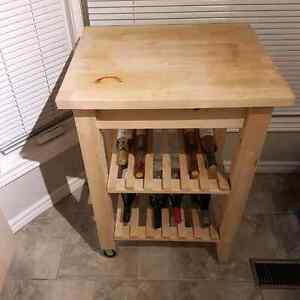 Kitchen Cart/Wine Rack
