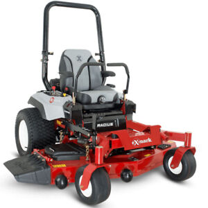"eXmark Radius X 48"" 52"" 60"" zero turn mowers Pre tariff pricing"
