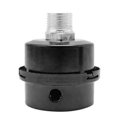 1x34inch 20mm Thread Metal Air Compressor Intake Filter Noise Muffler Silencer