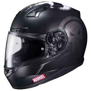 MARVEL HJC CL-17 PUNISHER HELMET/CASQUE MOTO MARVEL PUNISHER