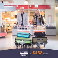 Vancouver - Mexico CAD $438  Onwards