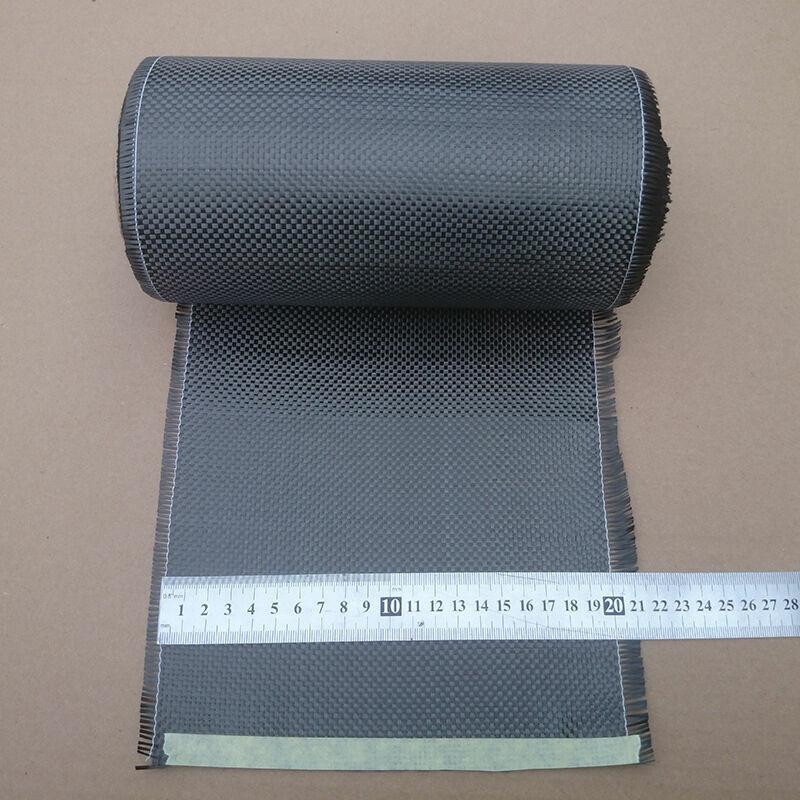 "High-Quality Real Carbon Fiber Cloth Carbon Fabric Plain Tape 8""/20cm 3K 200gsm"
