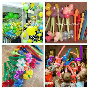 Balloon favors/goodies, Piniata and more...