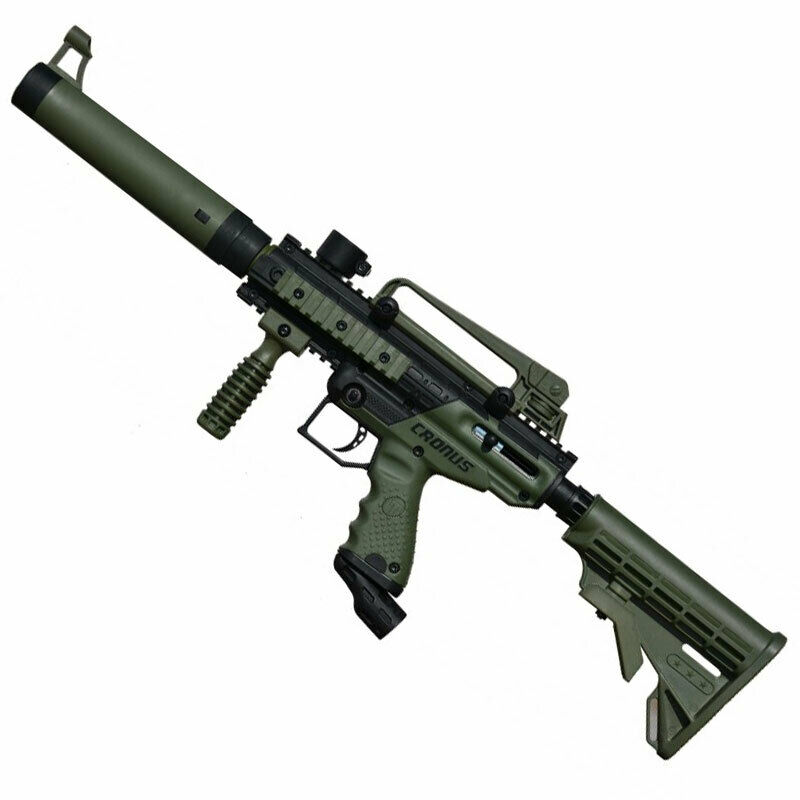 Tippmann Cronus Tactical Paintball Gun Olive/Black New in Box