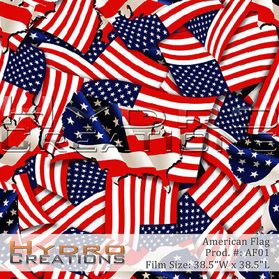 Hydrographic Film For Hydro Dipping Water Transfer Film American Flag Camouflage
