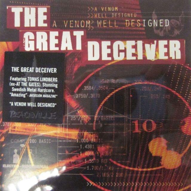 The Great Deceiver(CD Album)A Venom Well Designed-Peaceville-CDVILE118-UK-New
