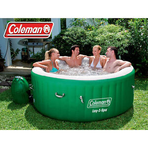 Colemans Lay-Z Spa Inflatable Hot Tub