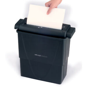 Barely used Concept Solution Cross-cut paper Shredder, like new