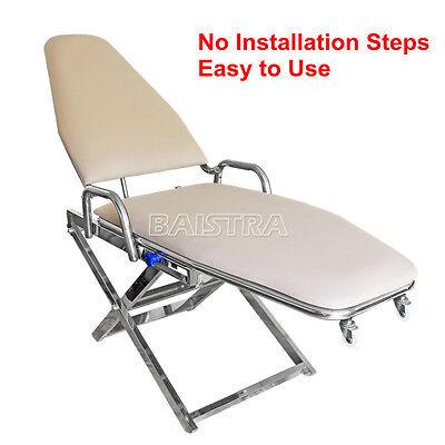 Dhl Shipping Portable Folding Chair Dental Lab Dentist Stool Cuspidor Tray