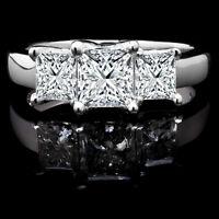 Bague de Fiançailles en 14k Or 1.20CTW Diamond Engagement Ring