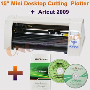 """NEW Redsail Desktop Vinyl Cutter 15"""" + Artcut2009 Software"""