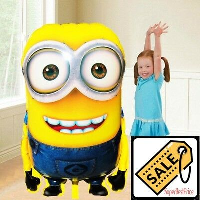 Balloon Large Size Foil Cartoon Minions Inflatable Birthday Party Decoration - Minion Party Decorations