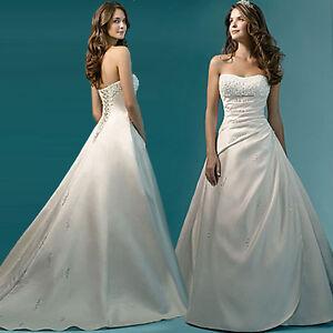 Brautkleid Hochzeitskleid Kleid für Braut Babycat collection 34 - 48 NEU BS082