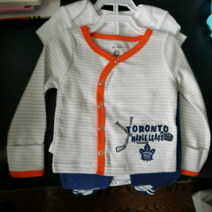 Baby Outfit Toronto Maple Leafs
