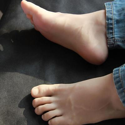 Male Silicone Fake Foot Feet Modelmannequin Display Shoes Size 44 A216