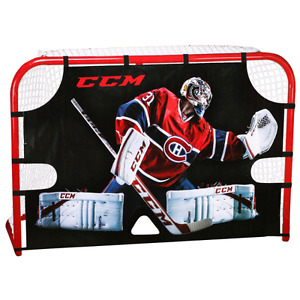 CCM hockey target canvas for full size goalie net.