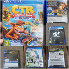 PS4, Rory Mcilroy Pga Tour,CTR Crash Latest Game