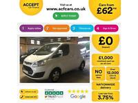 Ford Transit Custom Limited FROM £62 PER WEEK!