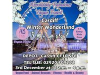 Absolutely Fabulous Vegan Depot Cardiff Christmas Event
