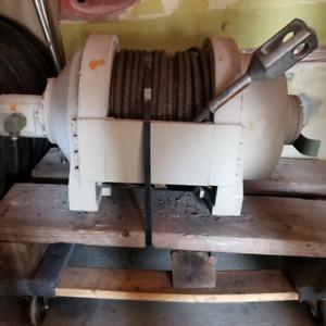 Hydraulic PULLMASTER Winch